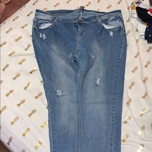 Plus Size Skinny Jeans (Size 20)
